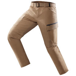 Travel 500 Men's Zip-Off Trousers - Camel