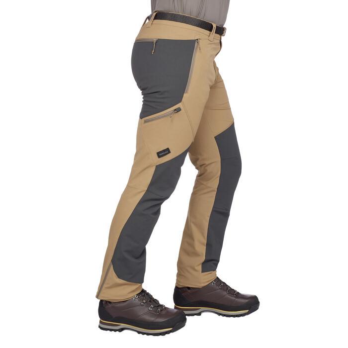 Pantalon trekking montagne TREK 900 homme gris foncé - 1291894