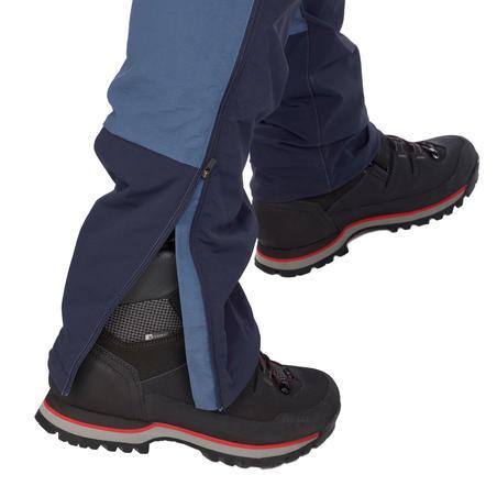 Pantalon modulable de randonnée en montagne RANDO500 homme bleu