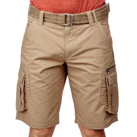 travel 100 m shorts brw brown