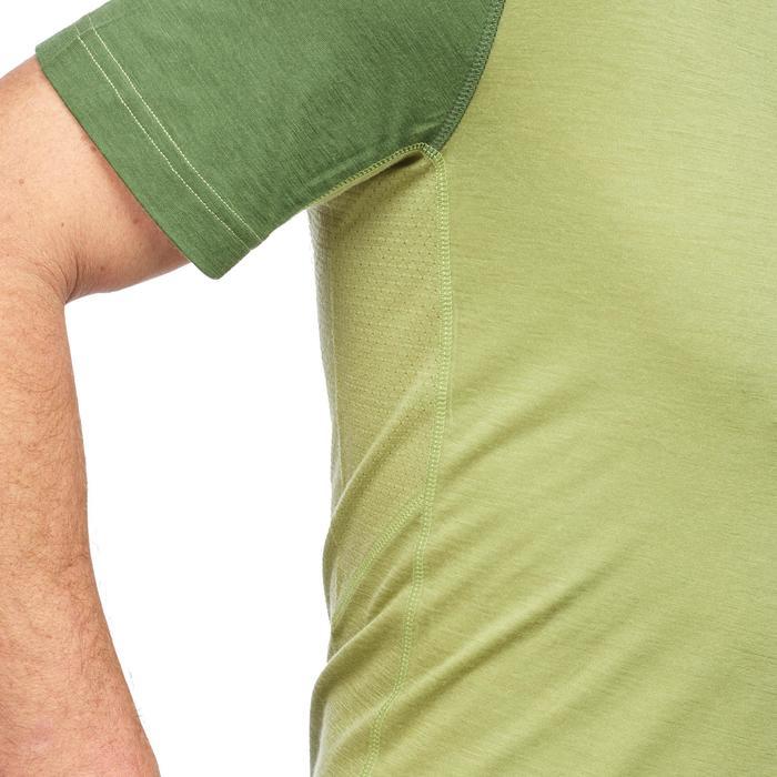 T Shirt Manches Courtes Randonnée TechWOOL 500 homme - 1291908