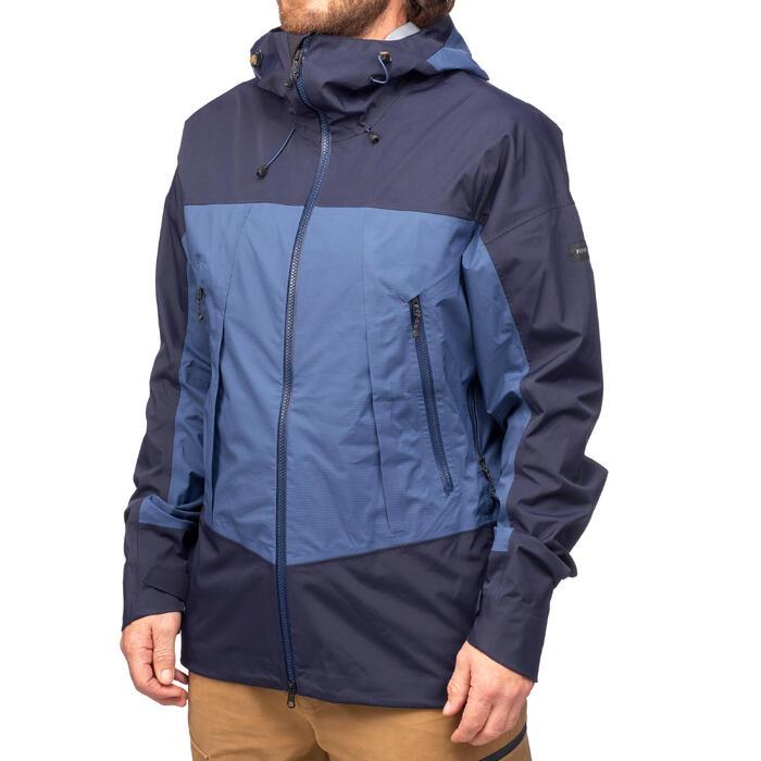 Veste TREKKING montagne TREK 500 homme bleu - 1291915