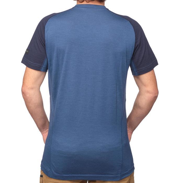 T Shirt Manches Courtes Randonnée TechWOOL 500 homme - 1291919