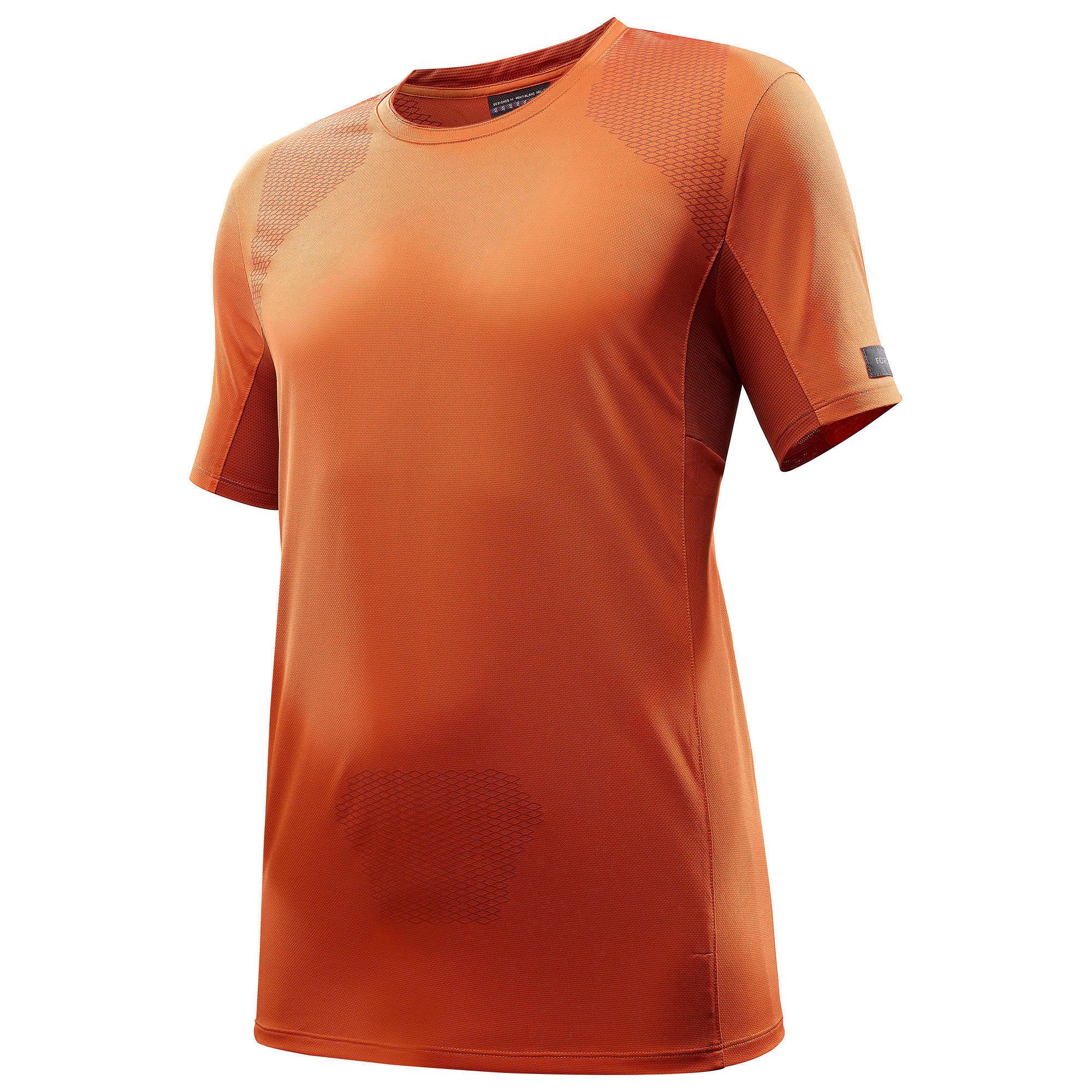 bef0206bbe0 Forclaz Heren T-shirt met korte mouwen voor bergtrekking Trek 500 2554600  Bovenkleding heren Sportkleding heren