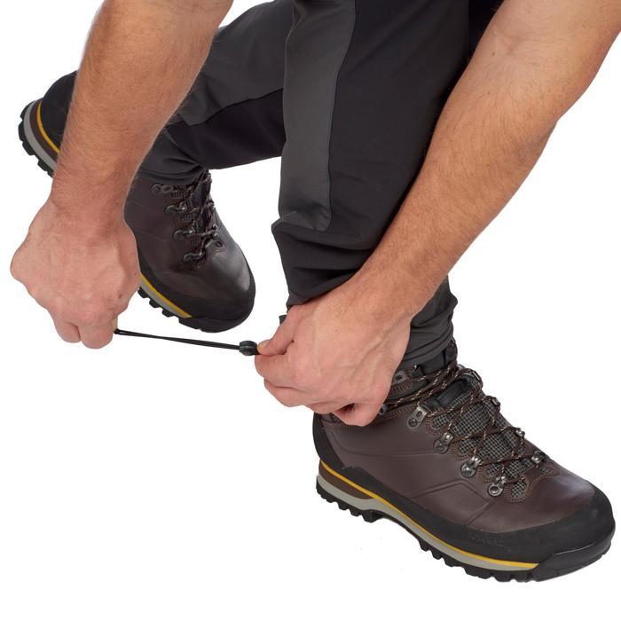 Pantalon trekking montagne TREK 900 homme gris foncé