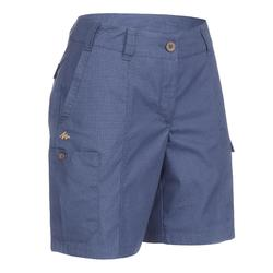 Trekkingshorts Travel 100 Damen blau