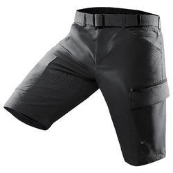 Pantalon TRAVEL500 MODUL HOMME GRIS FONCE