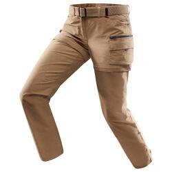 Pantalon TRAVEL 500 MODUL femme camel