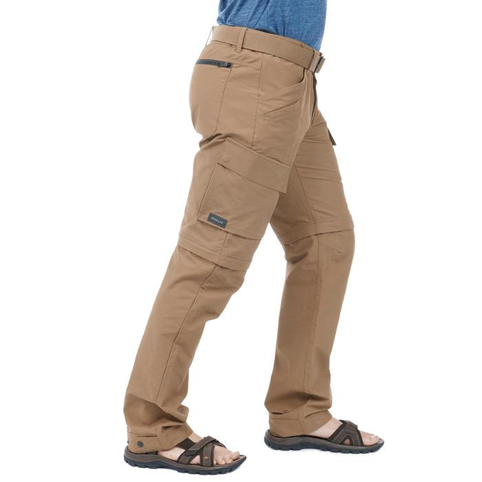 Pantalon TRAVEL500 MODUL HOMME CAMEL