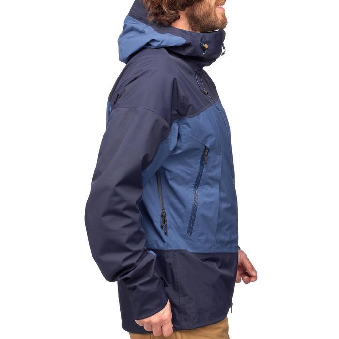 Veste TREKKING montagne TREK 500 homme bleu - 1292080
