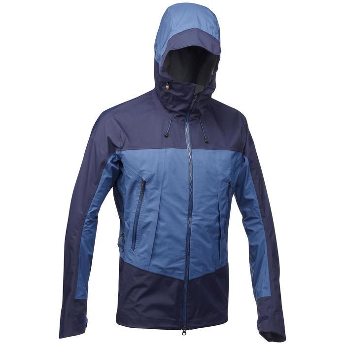 Veste TREKKING montagne TREK 500 homme bleu - 1292084