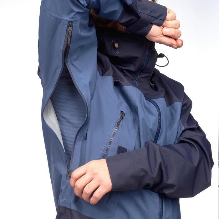 Veste TREKKING montagne TREK 500 homme bleu - 1292085