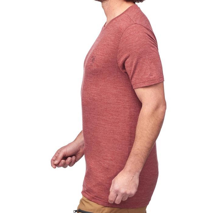 T-Shirt manches courtes randonnée Techwool 155 homme - 1292112