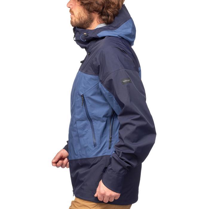 Veste TREKKING montagne TREK 500 homme bleu - 1292113