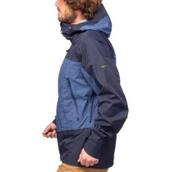 Veste imperméable trekking montagne TREK500 homme bleu