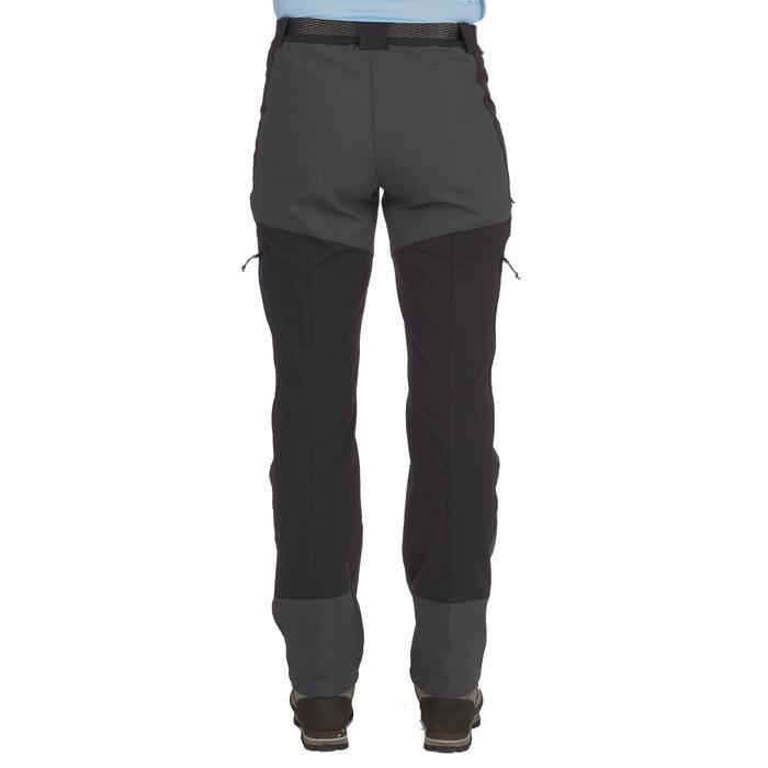 Pantalon trekking montagne TREK900 femme noir