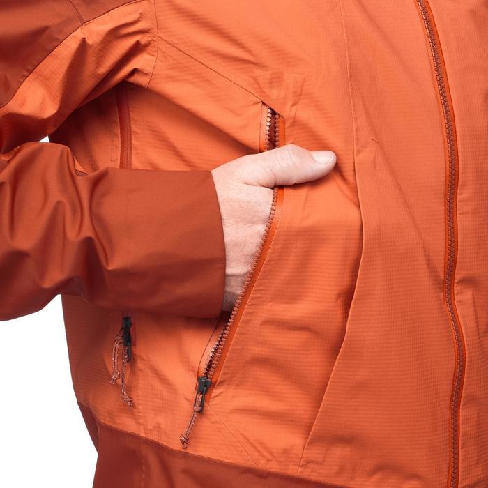 Veste TREKKING montagne TREK 500 homme orange