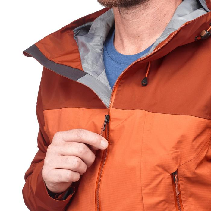 Veste TREKKING montagne TREK 500 homme bleu - 1292171