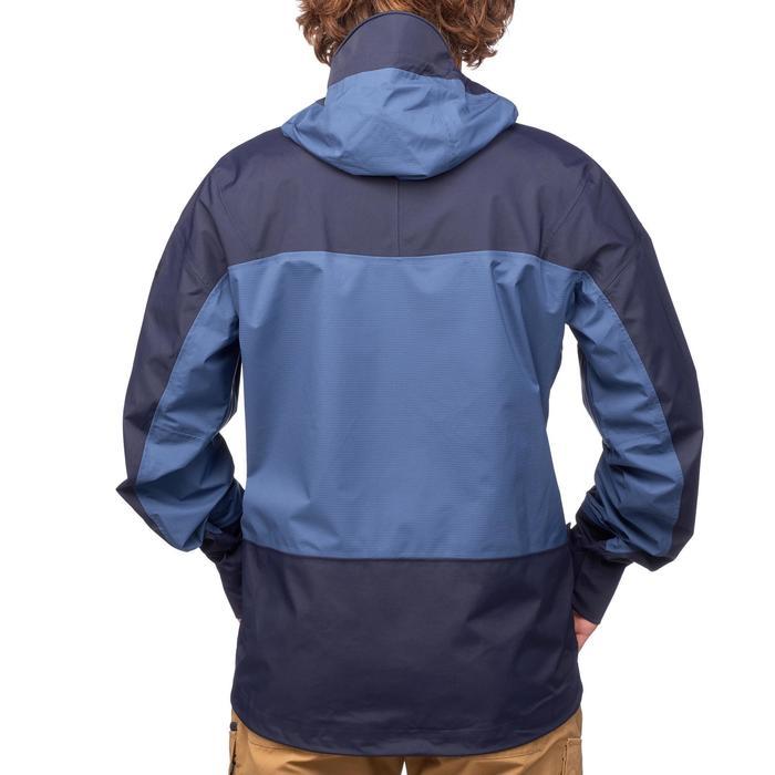 Veste TREKKING montagne TREK 500 homme bleu