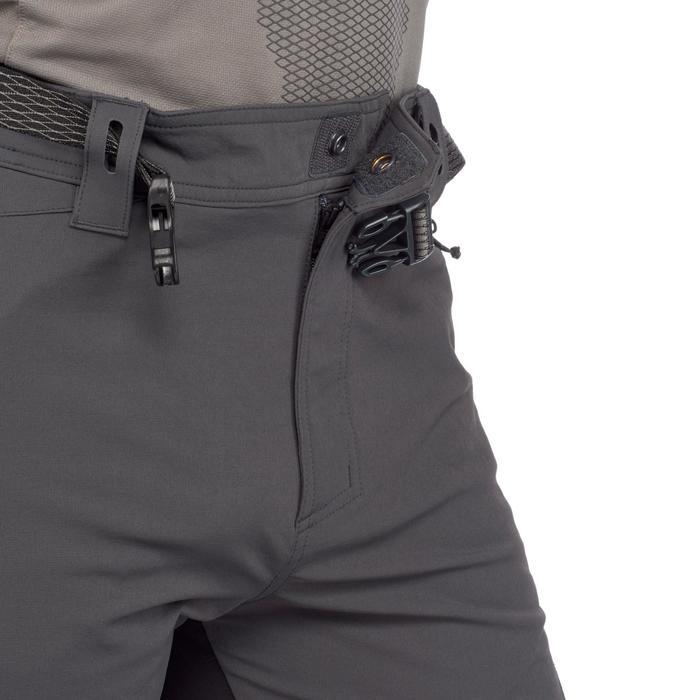 Pantalon trekking montagne TREK900 homme gris foncé