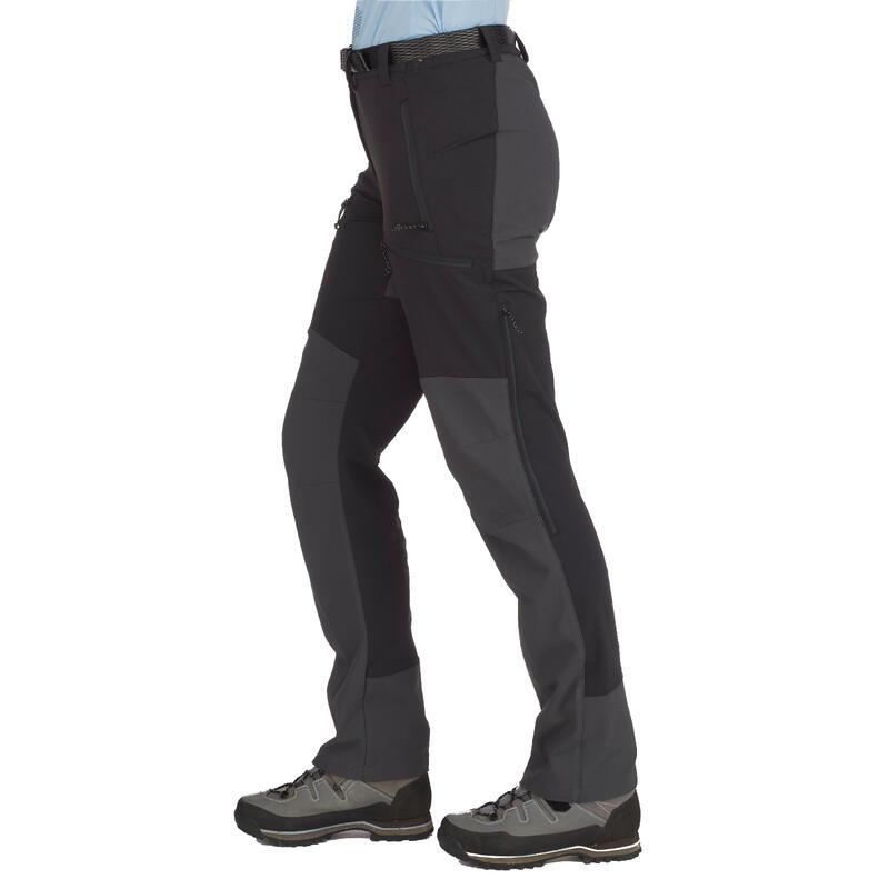 Pantalones de Mujer Cortaviento Montaña y Trekking Forclaz Trek 900