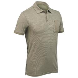 Arpenaz 500 Men's Short Sleeve Hiking Shirt – Green