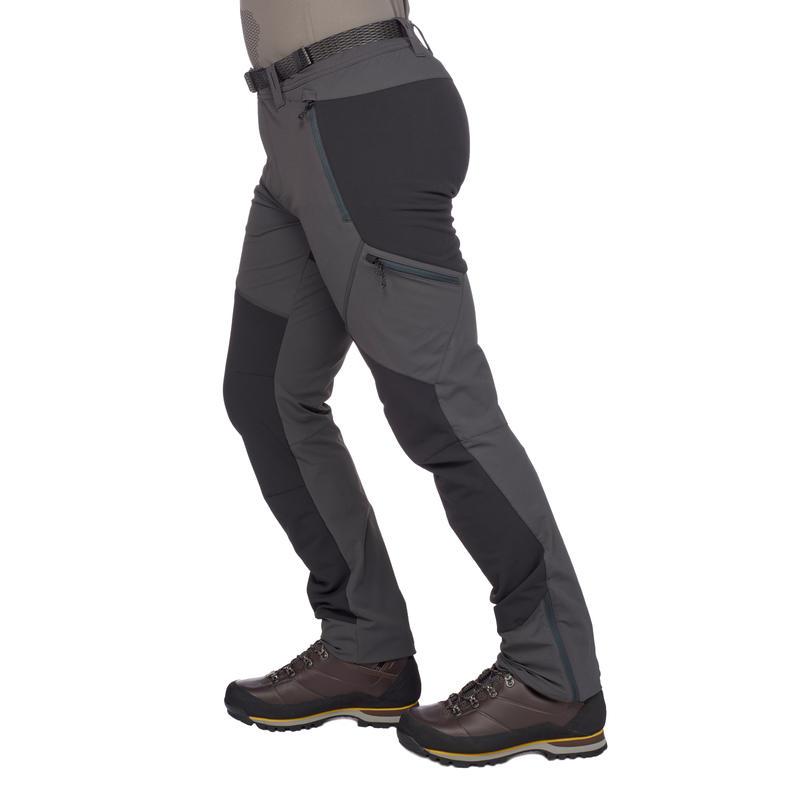 Forclaz 900 Men's Hiking trousers dark grey