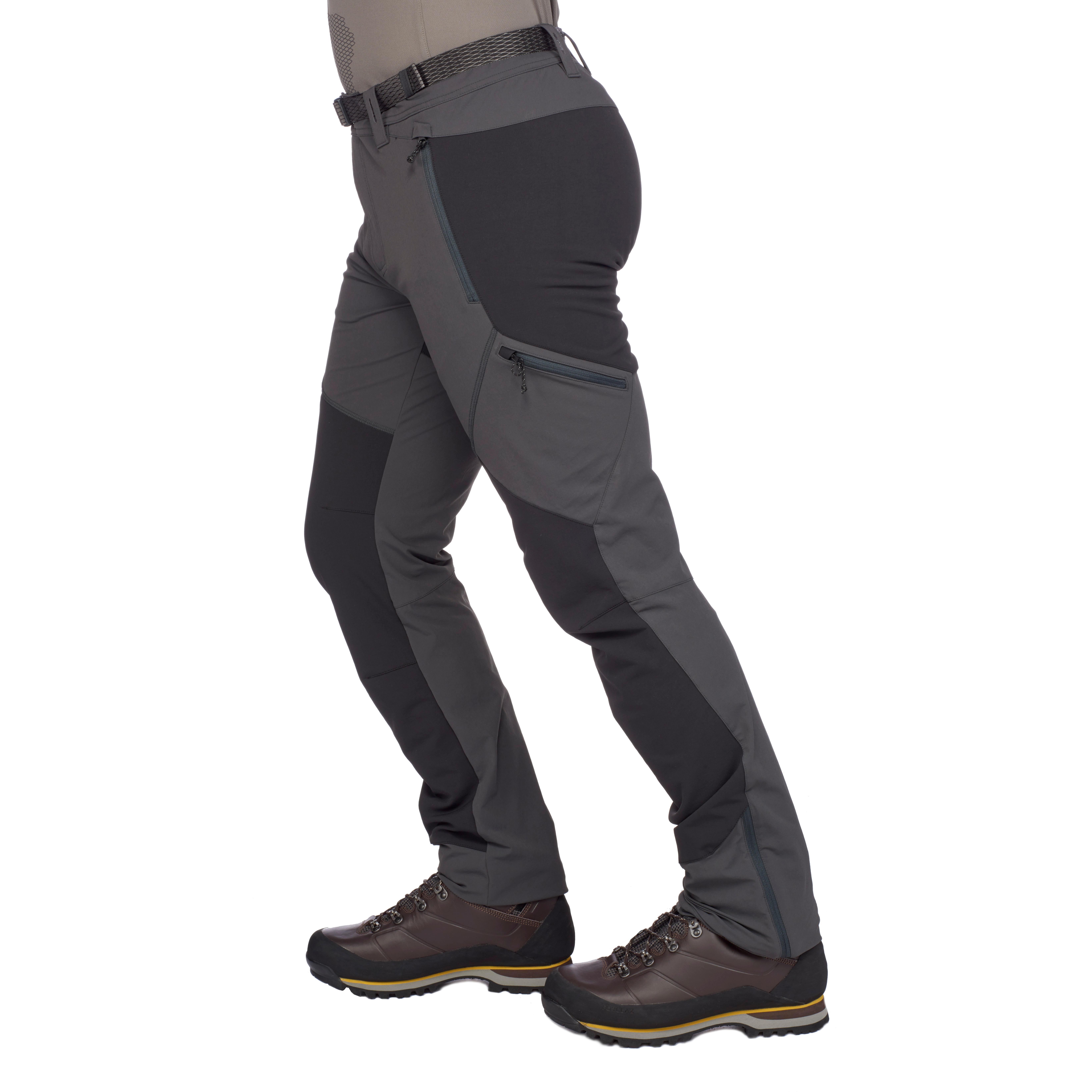 Men's Trekking Pant Trek 900 Dark Grey