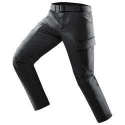 Pantalon TRAVEL 500 MODUL HOMME GRIS FONCE