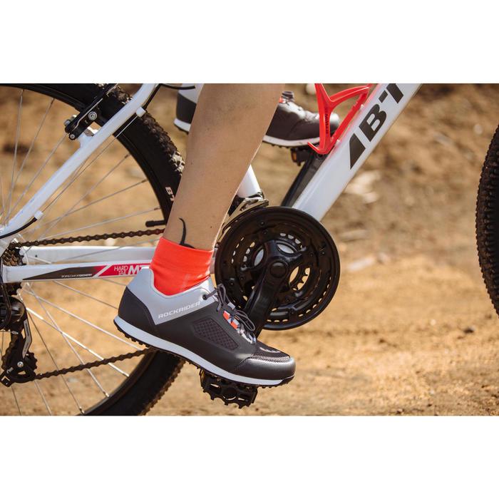 Fahrradschuhe MTB ST100 grau
