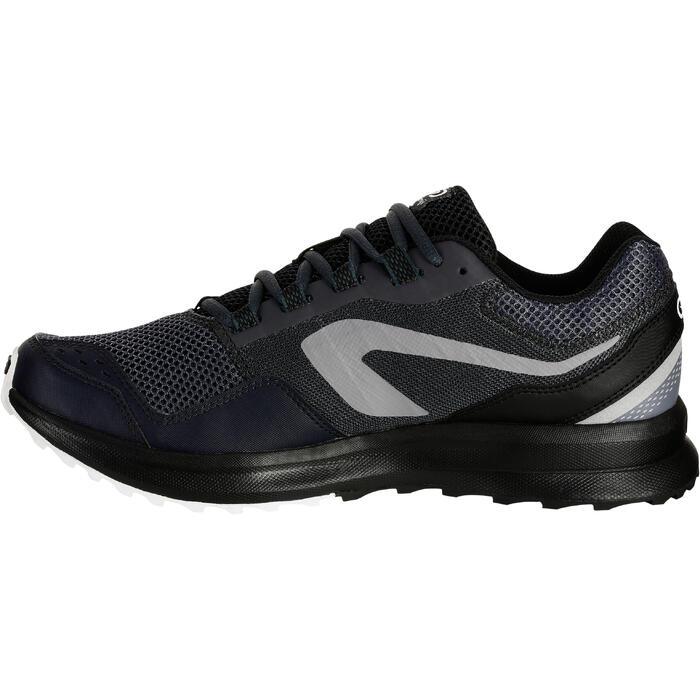 Zapatillas Running Kalenji Run Active Grip Hombre Gris/Negro