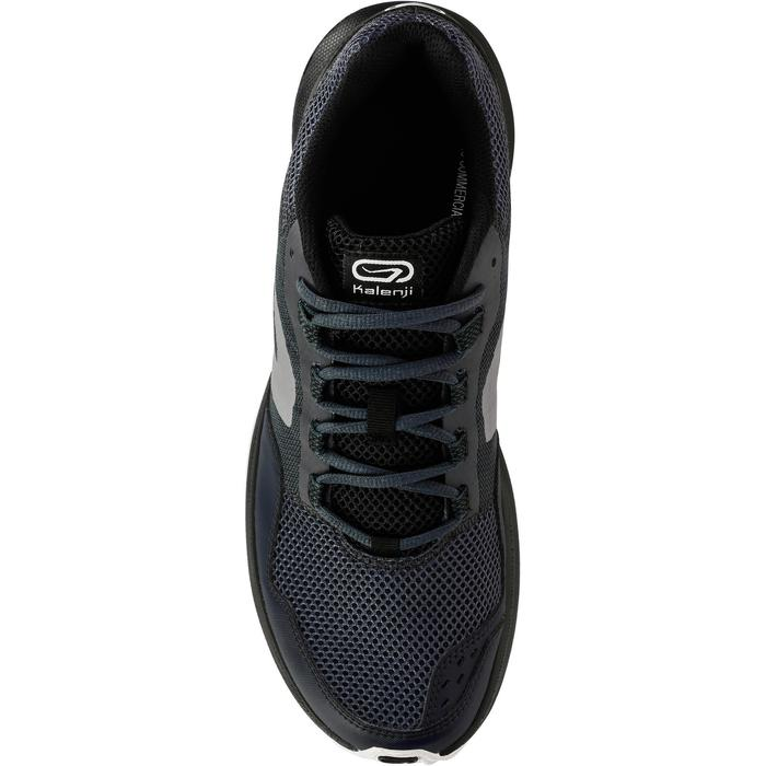 男款跑鞋RUN ACTIVE GRIP - 灰色/黑色