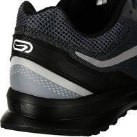 RUN ACTIVE GRIP MEN'S RUNNING SHOES - BLACK GREY