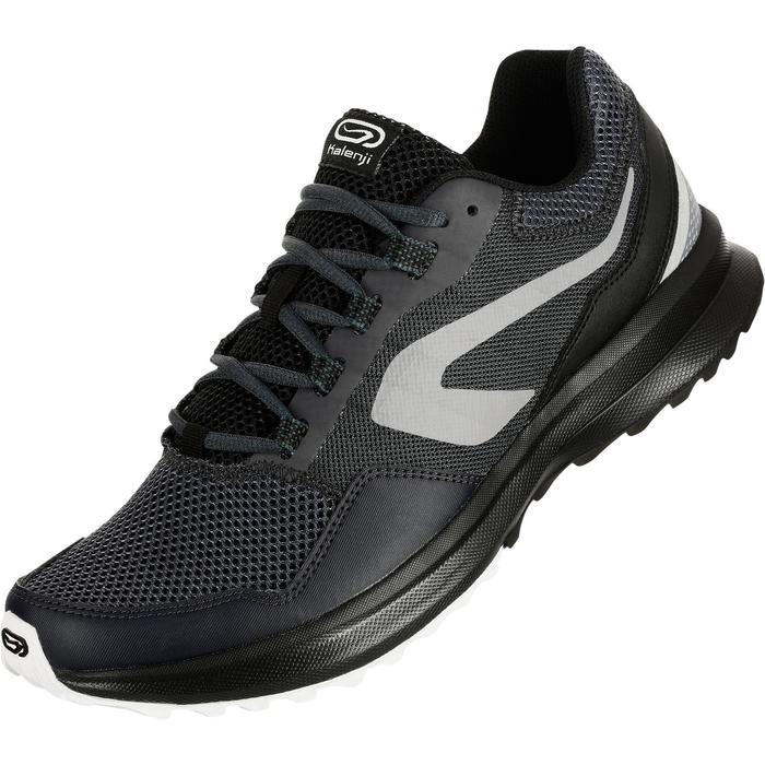 Loopschoenen voor heren Run Active Grip grijs/zwart