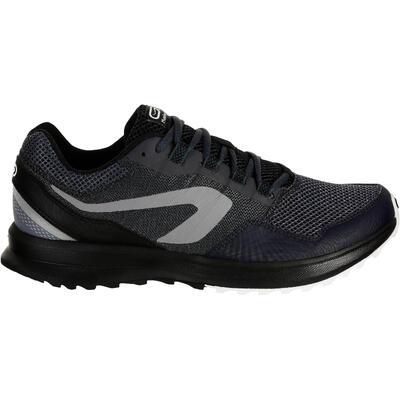 נעלי ריצה לגברים דגם RUN ACTIVE GRIP - אפור שחור