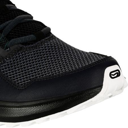 RUN ACTIVE GRIP MEN'S RUNNING SHOE - GREY/BLACK