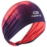 Naglavni trak za atletiko s potiskom – roza-vijoličen