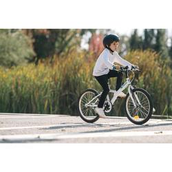 Hybride kinderfiets 20 inch 6 tot 9 jaar Original 100 wit