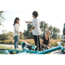 Trekkingrad Kinderfahrrad 20 Zoll Original 120 türkis/hellblau