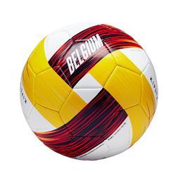 Voetbal België maat 5 rood zwart geel