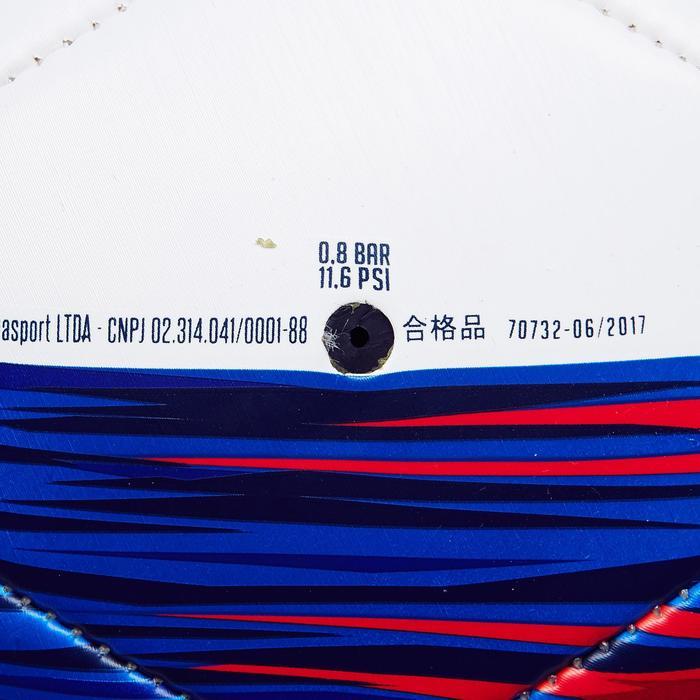 Balón fútbol Francia talla 5 azul blanco rojo