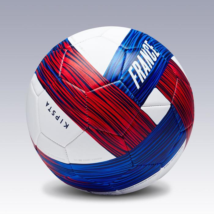 Ballon football France taille 5 bleu blanc rouge - 1292665