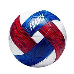 Fussball Frankreich Größe 5 blau/weiß/rot