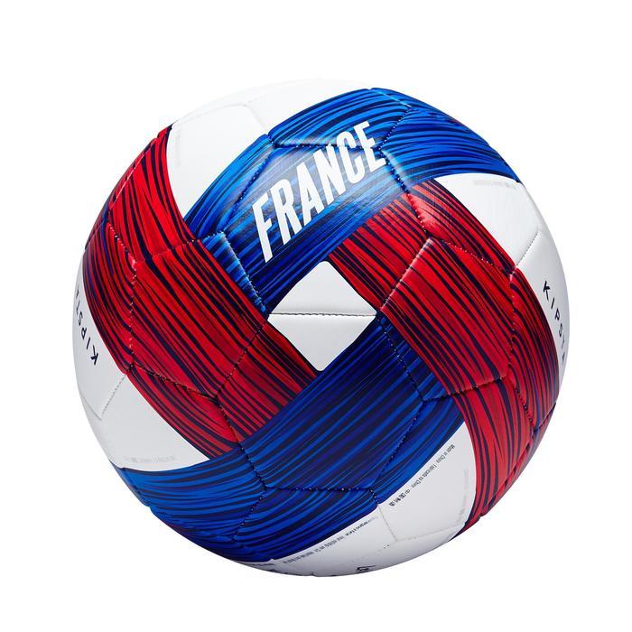 Voetbal Frankrijk maat 5 blauw wit rood