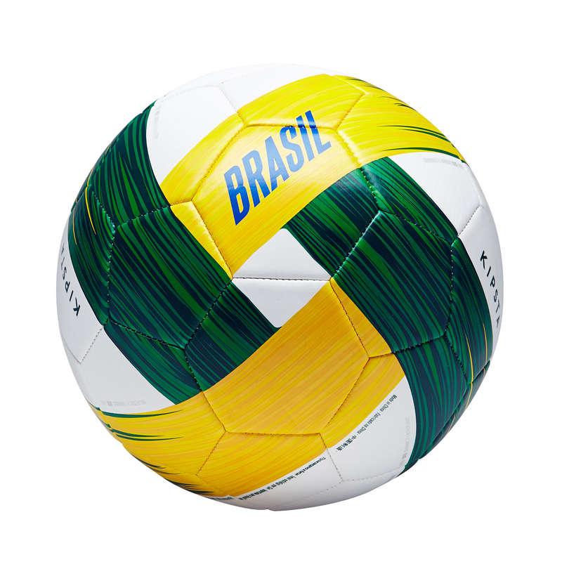 BRAZIL EQUIP NAT - Brazil Football Size 5  KIPSTA