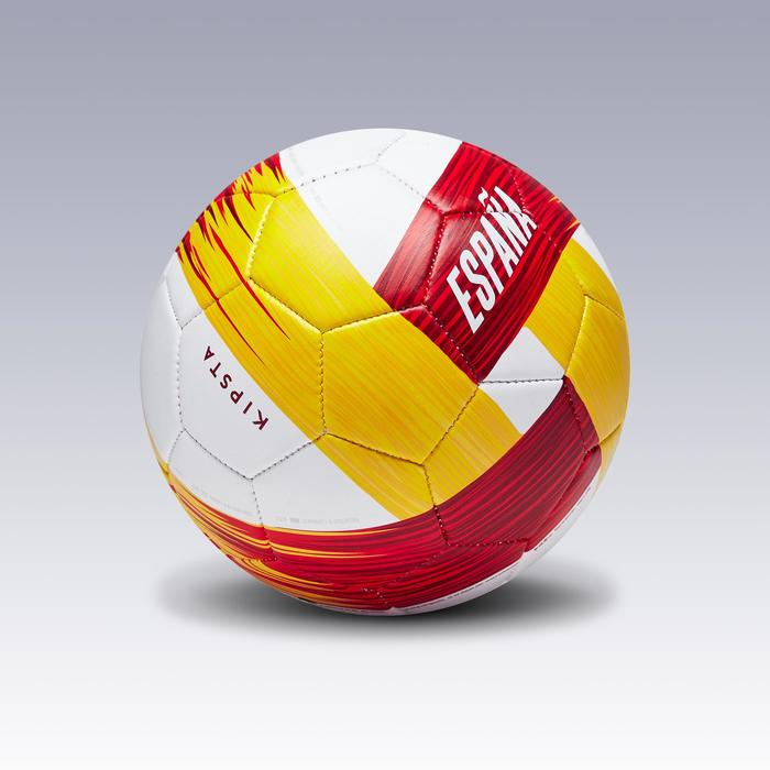 Ballon football Espagne taille 1 blanc rouge jaune - 1292677