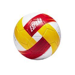 Ballon football Espagne taille 1 blanc rouge jaune