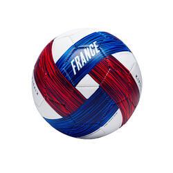 Voetbal Frankrijk maat 1 blauw/wit/rood