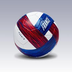 Ballon football France taille 1 bleu blanc rouge