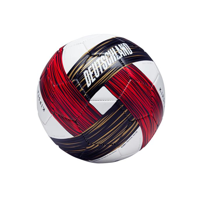 Ballon football Allemagne taille 1  blanc rouge noir - 1292694